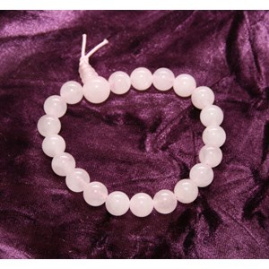 Rose Quartz Power Bead Bracelet