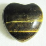 Tigers Eye Heart (small)