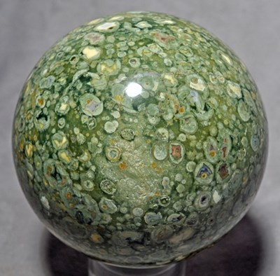 rainforest jasper sphere