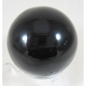 Black Obsidian Sphere