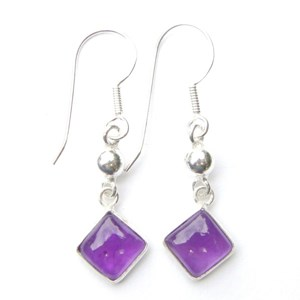Amethyst pretty Diamond Earrings