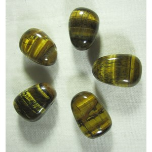 Tigers Eye Drilled Pendant ( X 1)