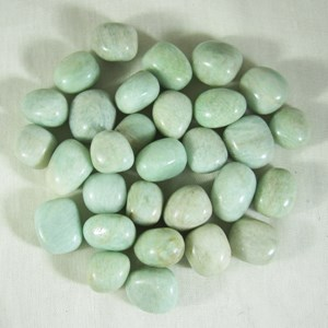 Amazonite Tumble stones x 3 (small)
