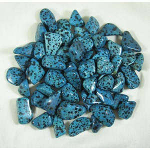 Blue Dalmation Jasper Tumble Stones (3)