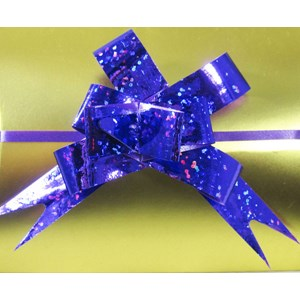 Purple Sparkly Gift Bow