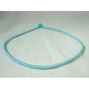 Cotton Blue Neck Cord