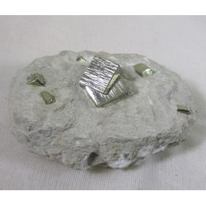 Iron Pyrite In Rock