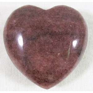 Red Mica Heart
