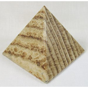 Brown Aragonite Pyramid (large)