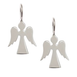 Pretty Guardian Angel Earrings