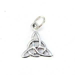 Mini Triple Triquetra Charm
