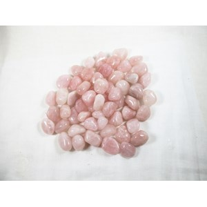 Rose Quartz Tumble Stones (Low Grade) x 3