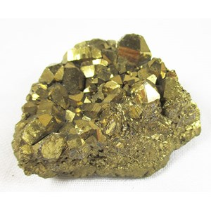 Gold Aura Quartz Cluster (small)