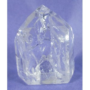 Fire and Ice Quartz Point