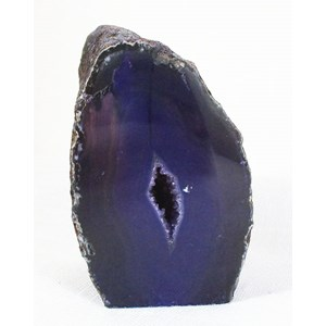 Purple Agate Standing Geode