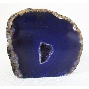 Purple Agate Standing Geode (Small)