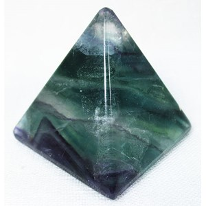 Rainbow Fluorite Pyramid (Medium)