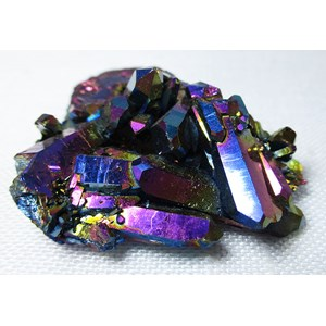 Rainbow Aura Quartz Cluster (Small)