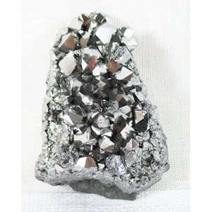 Silver Aura Quartz Cluster REDUCED