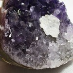 Amethyst and Calcite Standing Cluster (Small-ish)