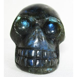 Labradorite Skull (Medium)