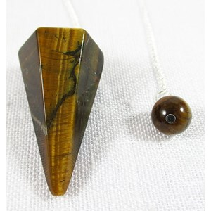 Tigers Eye Pendulum