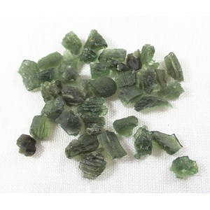 Moldavite Raw Chunk V Small