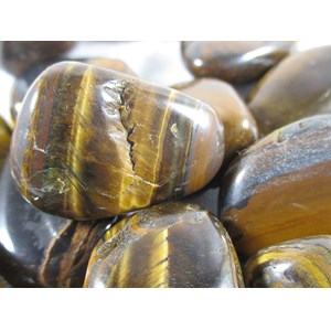 Tigers Eye Tumbles REDUCED