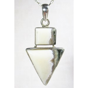 Ocean Jasper Arrow Pendant