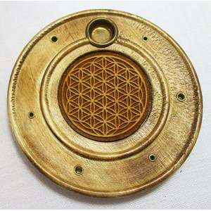 Flower of Life Incense Holder and Ash Catcher