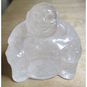 Quartz Happiness Buddha