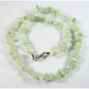 New Jade Gem Chip Necklace