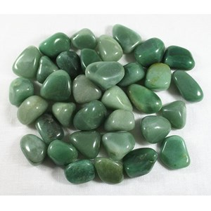 Green Aventurine Tumble Stones (C Grade) x 3 REDUCED