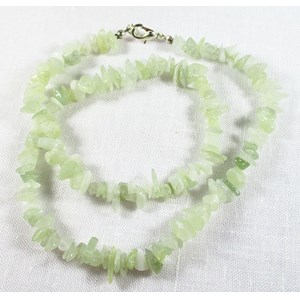 New Jade Chip Necklace REDUCED