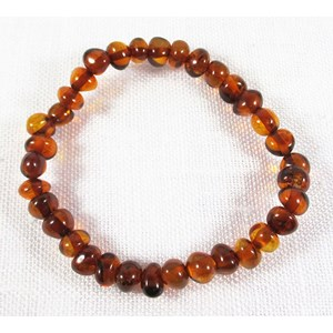 Amber Teething Bracelets (X Small)