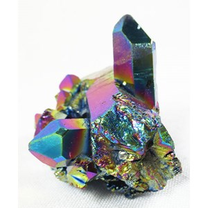 Rainbow Aura Quartz Cluster (Smallish)