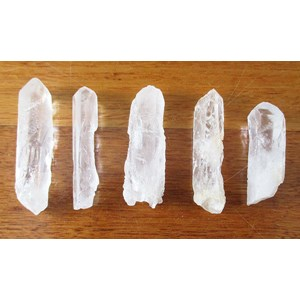 5 Piece Quartz Point Set
