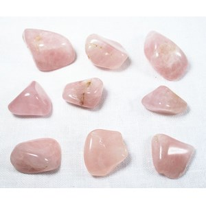 9 Piece Rose Quartz 'Love Yourself Set' (C Grade)