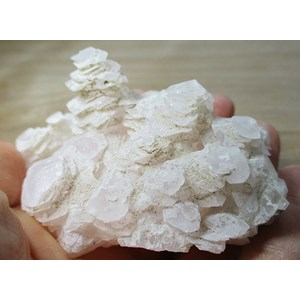 Mangano Calcite Cluster (Smallish)