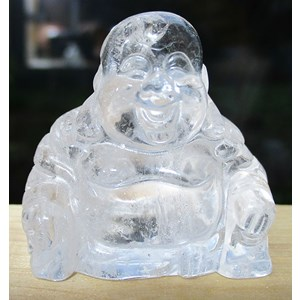 Quartz Happiness Buddha (Small)
